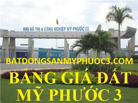 gia dat my phuoc 3 moi nhat