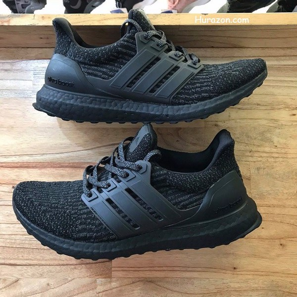 Adidas Ultra Boost đen full AUB59
