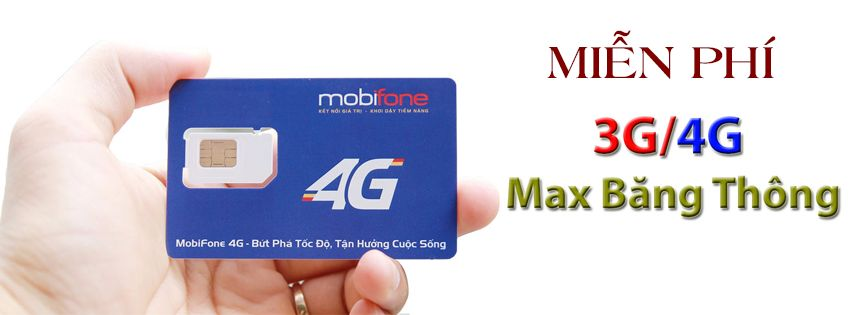 Sim 3G/4G Miễn Phí