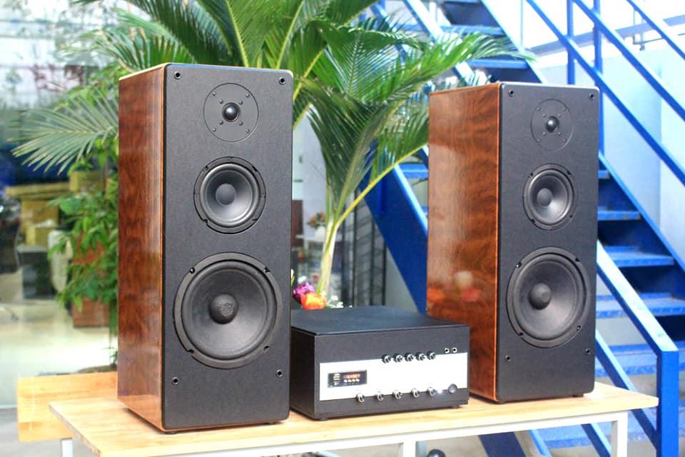 Xả hàng không lợi nhuận dàn karaoke V385 (amly karaoke A700 + 02 loa cây V385)