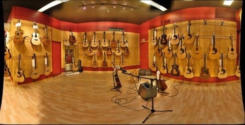 Acoustic studio in hcmc