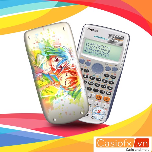May tinh casio, may tinh vinacal, casio