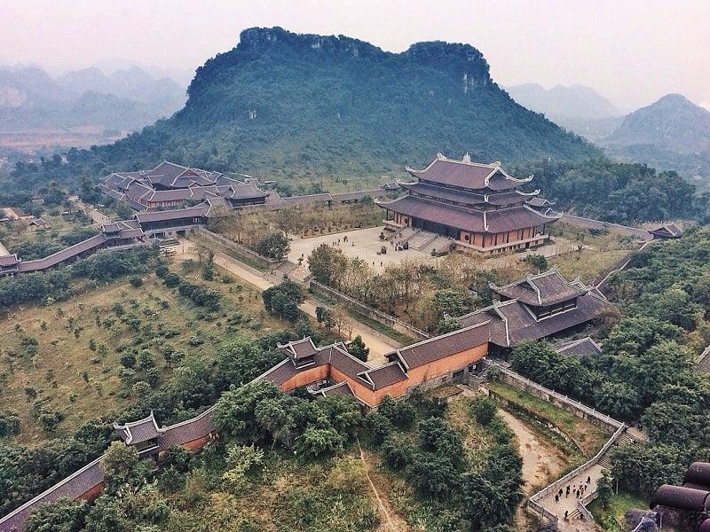 Image result for chùa bái đính