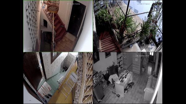 cách đầu ghi và camera quan sát hoạt động