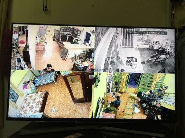 Lắp đặt camera theo dõi từ xa không dây