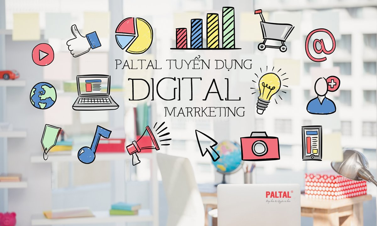 PALTAL tuyển nhân viên Marketing Executive hoặc Digital Marketing Executive