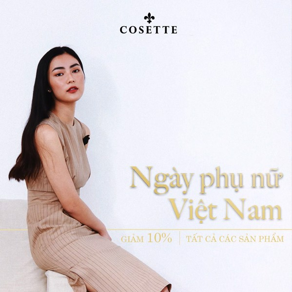 CELEBRATE VIETNAM WOMAN'S DAY, COSETTE SALE UP TO 20% !