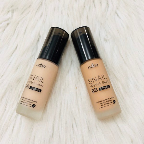 Kem Nền BB Cream ODBO Snail Repair Skin