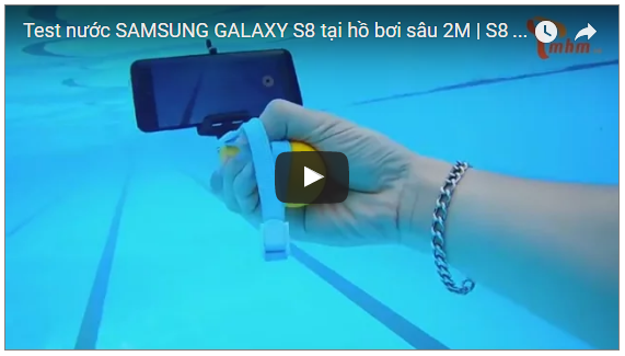 extreme underwater test of samsung galaxy s8