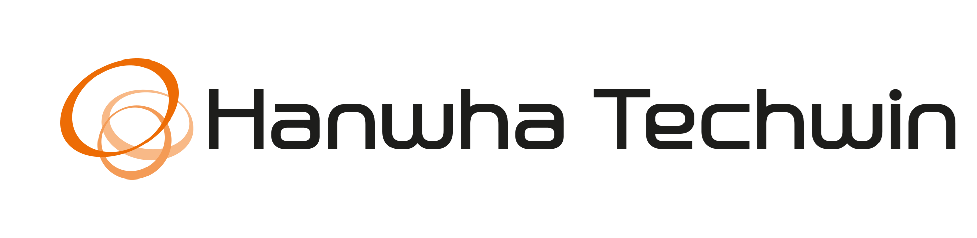 Logo hanwha techwin Transparent
