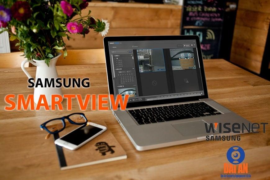 SmartViewer Samsung | Phần mềm xem camera trên máy tính