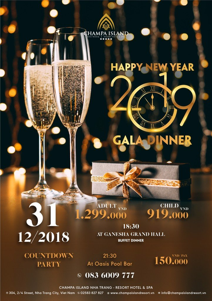 HAPPY NEW YEAR GALA DINNER