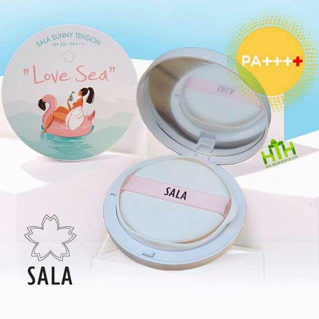 phấn nước chống nắng tension sala love sea