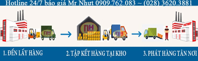 chuyển hàng đi Vĩnh Phúc từ Sài Gòn
