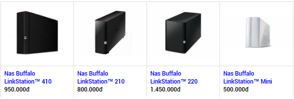 [Update] Tổng hợp các mẫu ổ cứng mạng nas buffalo giá rẻ nhất 2017