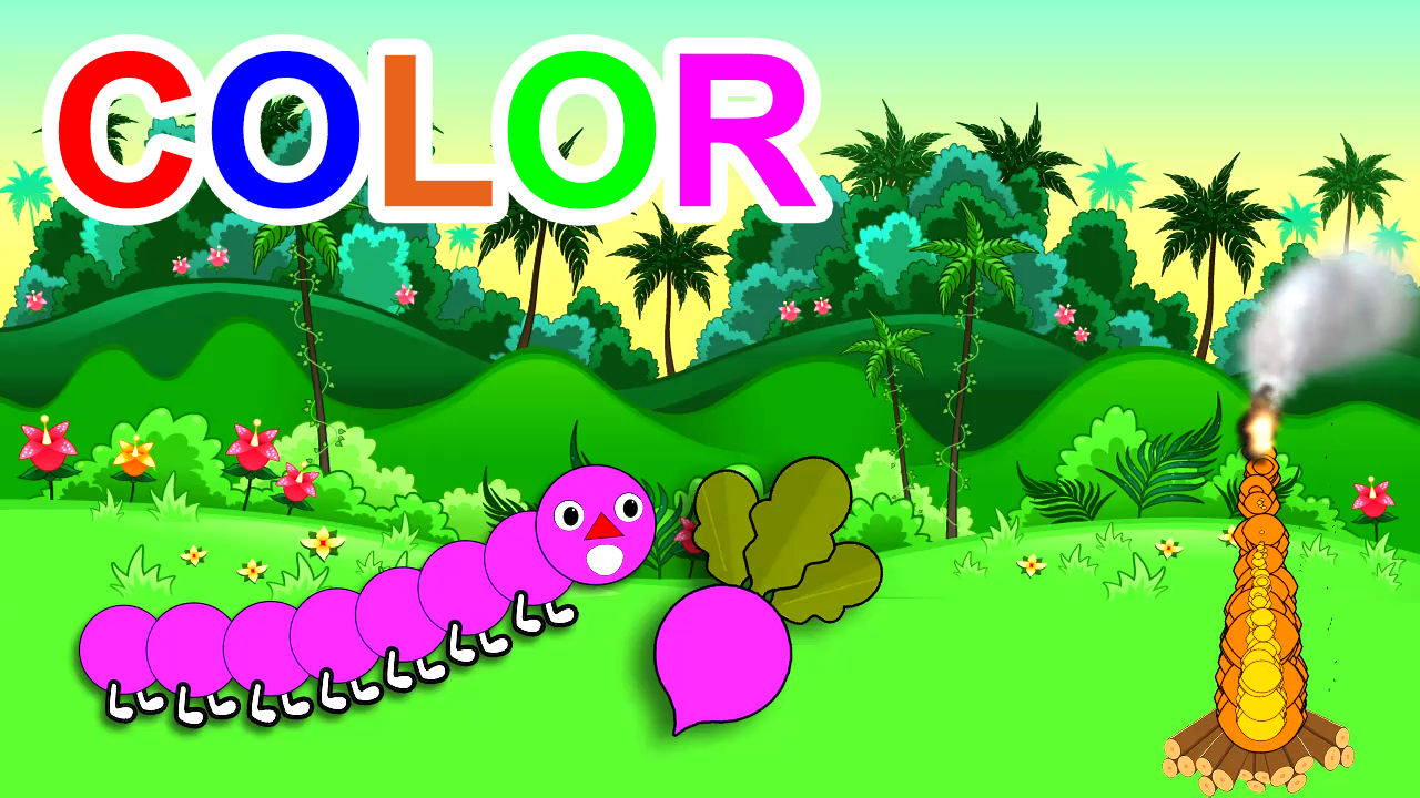 Learn Colors With Fruits And Vegetables For Kids Children Toddlers