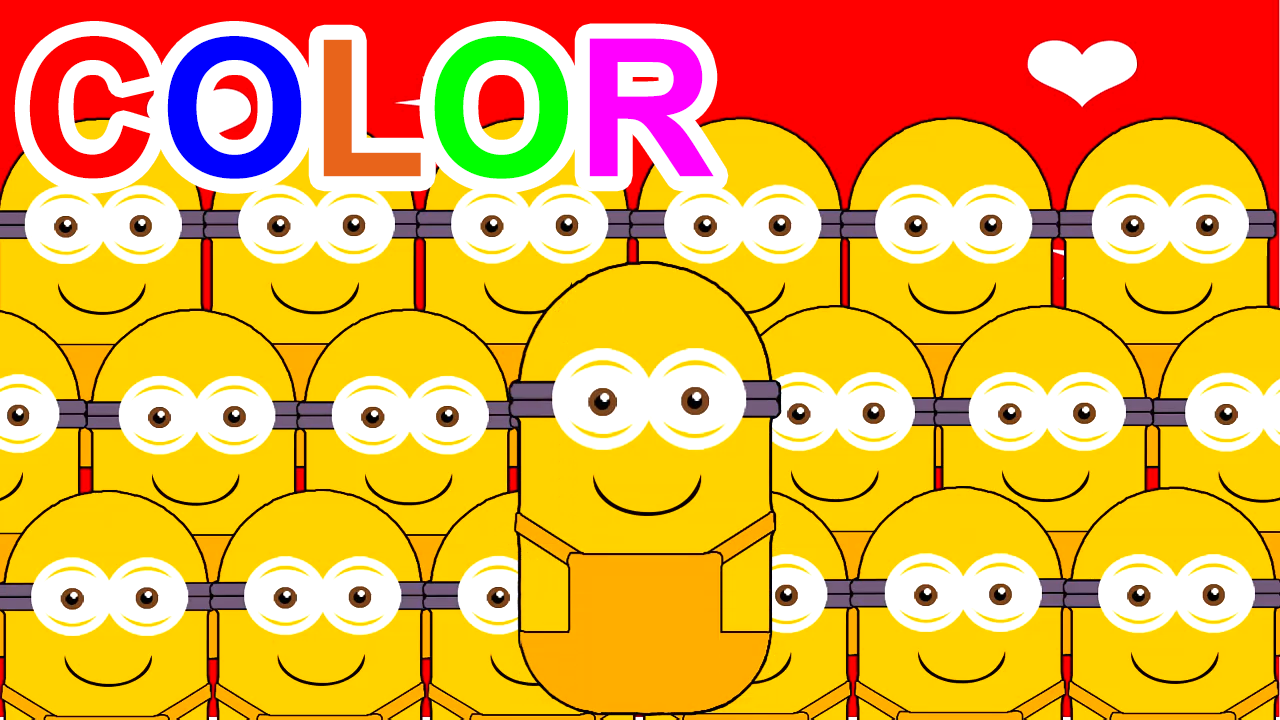 Learn Colors With Minions Banana For Kids Children Toddlers