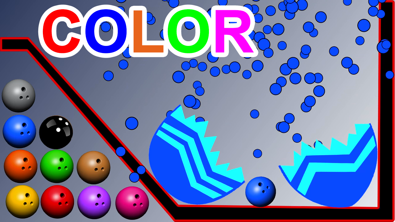 Learn Colors With Surprise Eggs For Kids Children Toddlers