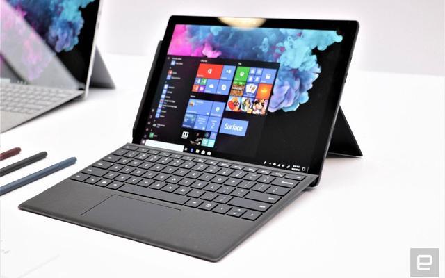 Chiếc Surface Pro 6 mới được Microsoft sinh ra để đối đầu với cả iPad và MacBook