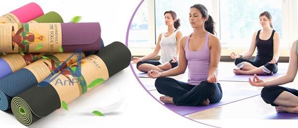 Thảm tập yoga hai lớp Đài Loan, thảm tập yoga đài loan, thảm tập yoga eco friendly, thảm tập yoga tpe đài loan, thảm tpe đài loan đúc 1 lớp dày 8mm, thảm tập yoga hà nội, thảm tập yoga tpe tphcm, thảm tập yoga tpe 2 lớp 6mm, thảm tập yoga tpe eco~friendly đài loan 8mm,