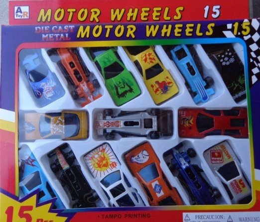 die cast car set