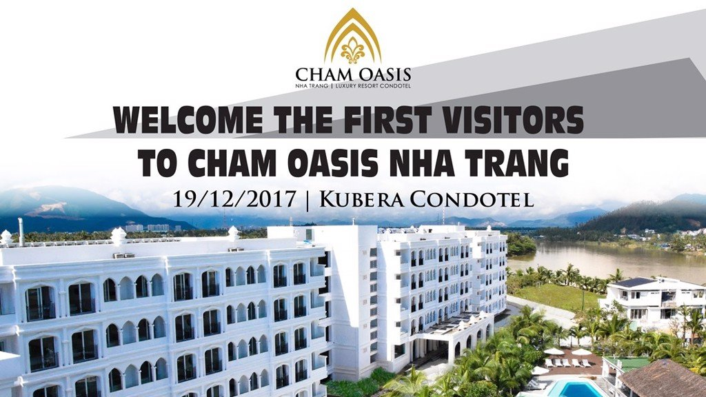 WELCOME THE FIRST VISITORS TO KUBERA CONDOTEL - CHAM OASIS NHA TRANG