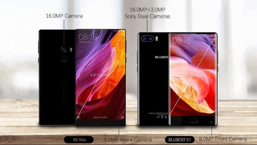 bluboo s1 vs mi mix