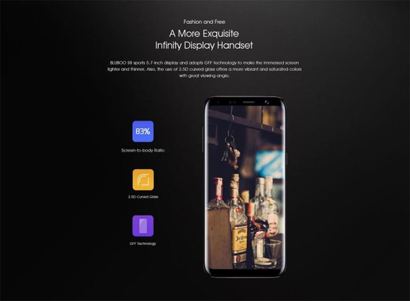 smartphonestore.vn - bán lẻ giá sỉ, online giá tốt điện thoại smartphone bluboo s8 chính hãng - 09175.09195