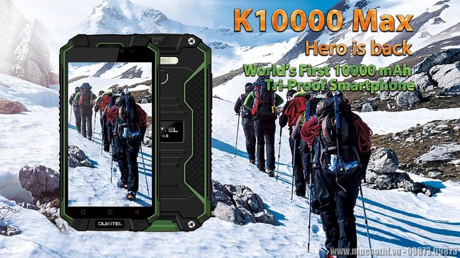 smartphonestore.vn - bán lẻ giá sỉ, online giá tốt điện thoại oukitel k10000 max chính hãng - 09175.09195