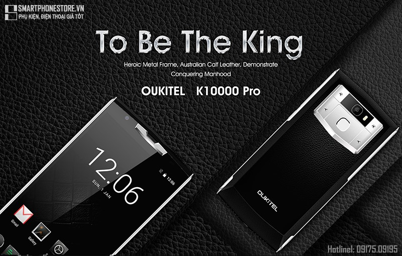 smartphonestore.vn - bán lẻ giá sỉ, online giá tốt smartphone oukitel k10000 pro chính hãng - 09175.09195