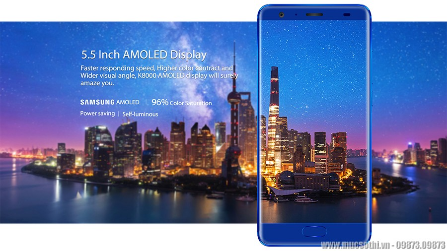 smartphonestore.vn - bán lẻ giá sỉ, online giá tốt điện thoại oukitel k8000 chính hãng - 09175.09195