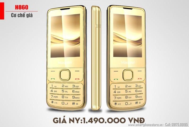 smartphonestore.vn - bán lẻ giá sỉ, online giá tốt điện thoại masstel h860 chính hãng - 09175.09195