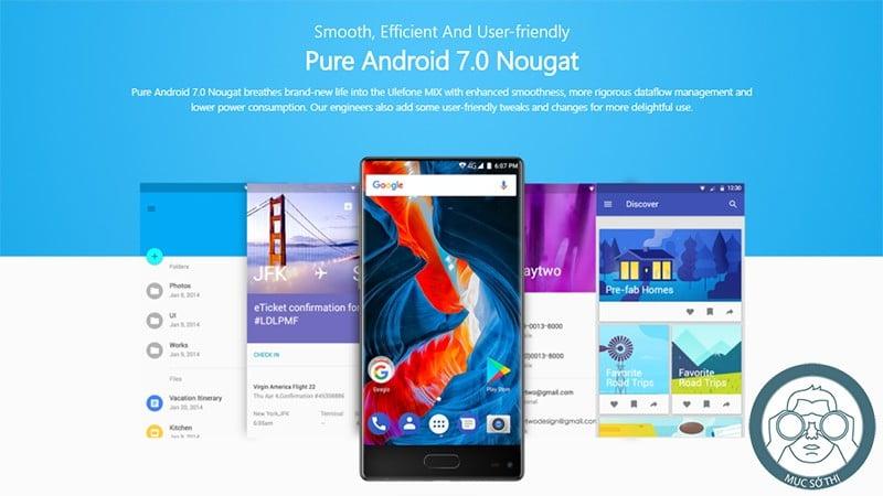 SmartPhoneStore.vn - Bán lẻ giá sỉ, Online giá tốt điện thoại smartphone Ulefone Mix chính hãng - 09175.09195