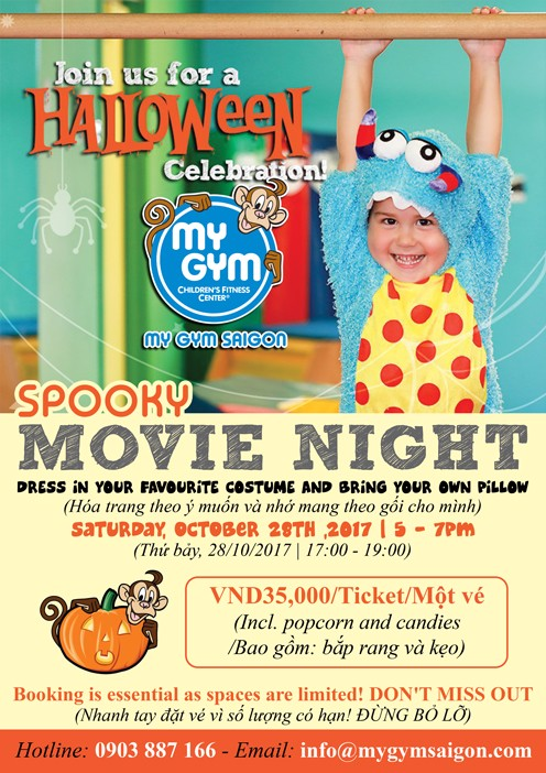 SPOOKY MOVIE NIGHT at Mymo's Haunted