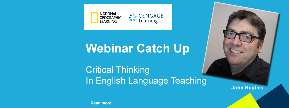 Critical Thinking in English Language Teaching