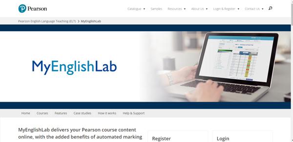 MyEnglishLab - Công cụ học tập online của Pearson