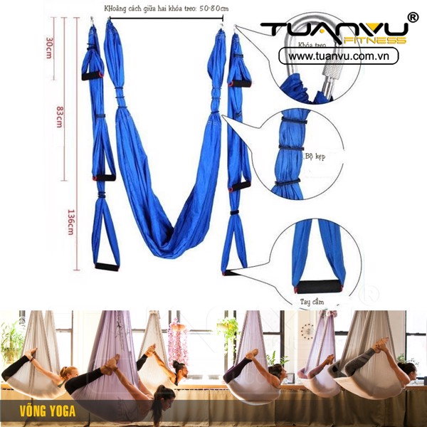 võng yoga, vong yoga, anti gravity yoga equipment