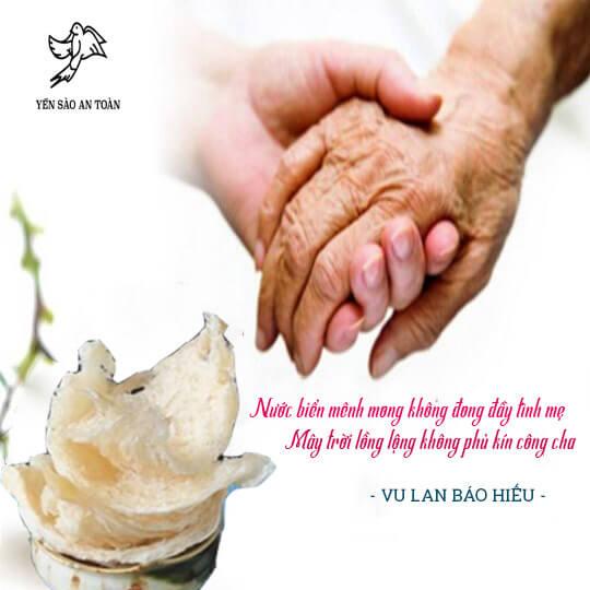 Yến Sào – Món quà thay lời yêu thương con gửi đến ba mẹ ngày Vu Lan
