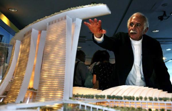 Moshe Safdie với dự án Marina Bay Sands