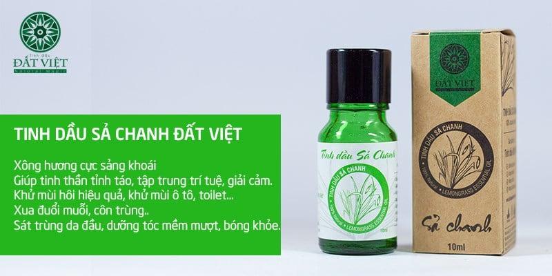 Tác dụng của tinh dầu sả chanh