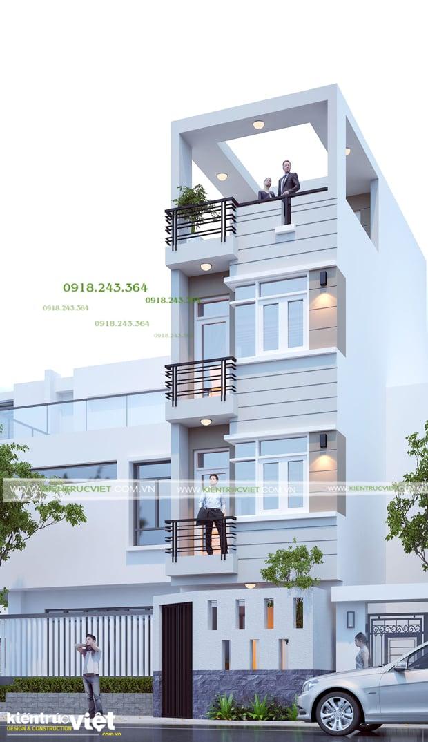 Tư vấn thiết kế nhà phố lệch tầng