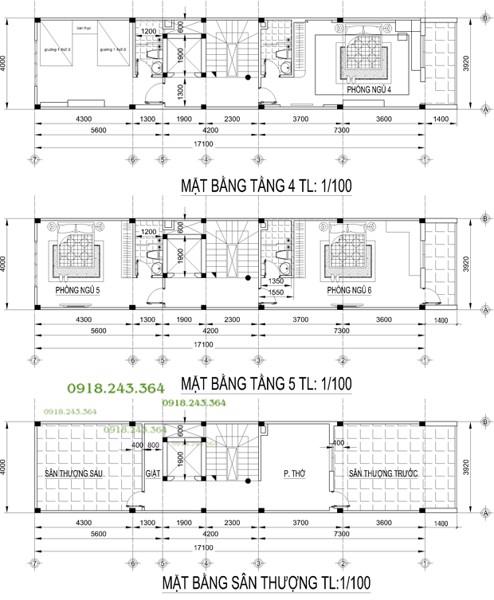 Nhà phố nhà 4m 3 lầu, Hải Dương