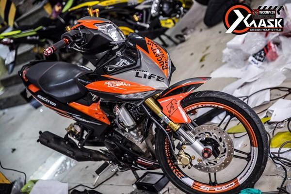 Tem Exciter 150 Mẫu Moto Life