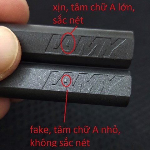 LAMY safari real vs fake