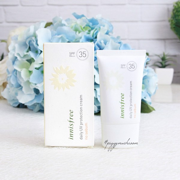 Kem chống nắng kiềm dầu ‪Innisfree‬ Daily UV Protection Cream No Sebum SPF35 50ml