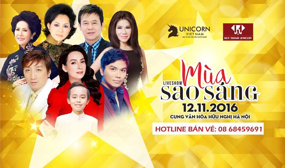 Huy Thanh Jewerly Tài Trợ Liveshow '' Mùa Sao Sáng