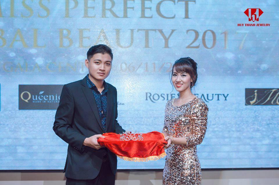 Huy Thanh Jewelry Đồng Hành Cùng Miss Perfect Global Beauty 2017