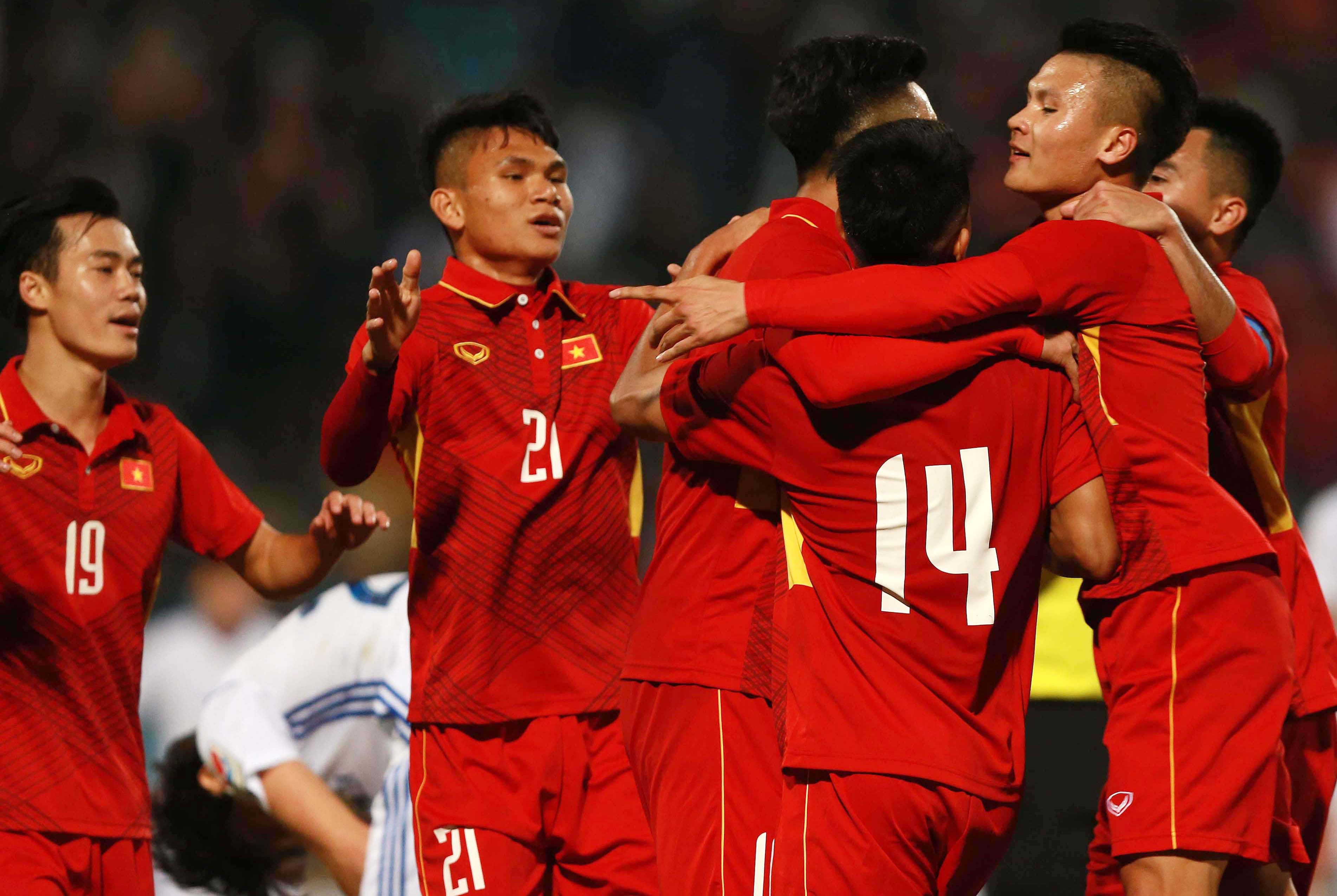 Danh sách 23 cầu thủ U23 Việt Nam tham dự  VCK U23 châu Á 2018