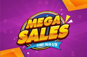 Đại Tiệc Mega Sales – Sắm Quà Thả Ga Trúng Quà Cực Đã Cùng FunnyLand