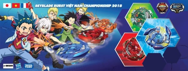 Beyblade Burst - Born to be champion